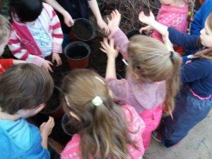 SRN - 13. setkání - Jsme malí zahradníci - březen 2018