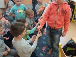 B - Návštěva v 1. třídě ZŠ Náměstí únor 2019
