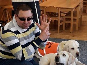 A - Asistenční psi v MŠ  březen 2019