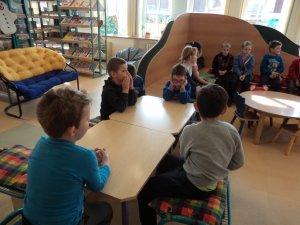 B - Návštěva knihovny s předškoláky - 2019