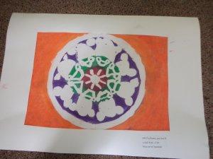 B - Moje první Mandala - Květen 2019